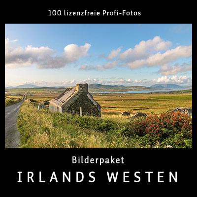 Bilderpaket Irlands Westen - 100 lizenfreie Profi-Fotos