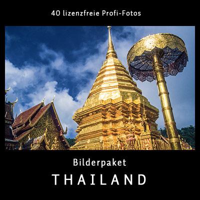 Bilderpaket Thailand - 40 lizenfreie Profi-Fotos