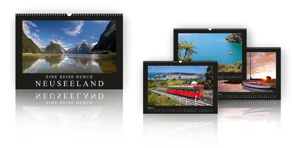 Kalender Eine Reise durch Neuseeland 2018