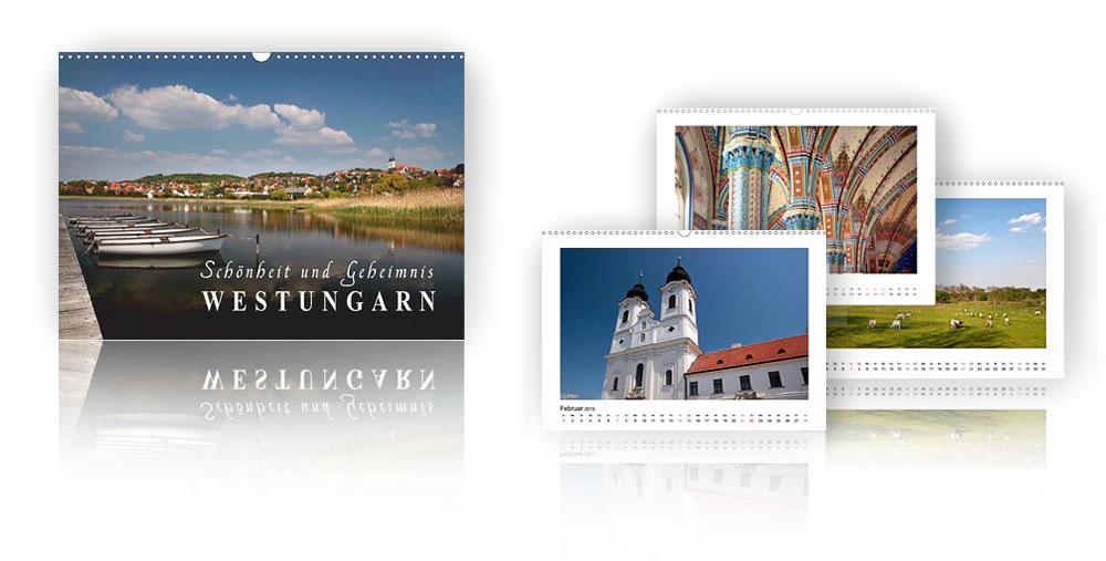 Kalender Westungarn - Schönheit und Geheimnis 2018
