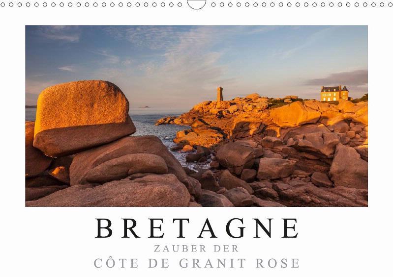 Kalender Bretagne - Zauber der Cote de Granit Rose 2019