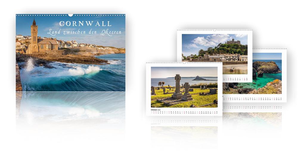 Kalender Cornwall - Land zwischen den Meeren 2018