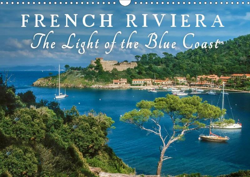 Calendar French Riviera - The Light of the Blue Coast 2019