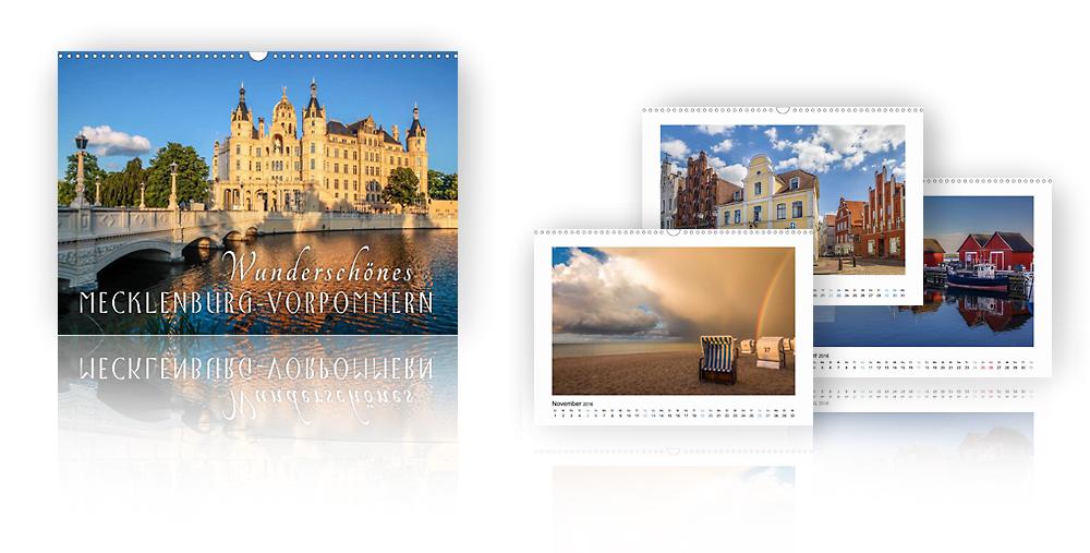 Kalender Wunderschönes Mecklenburg-Vorpommern 2018