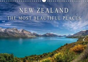 Calendar New Zealand - The most beautiful places 2017