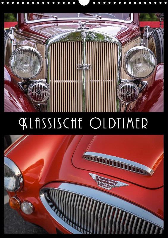 Kalender Klassische Oldtimer 2019