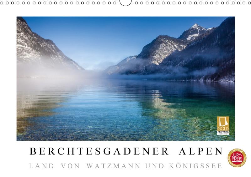 Kalender Berchtesgadener Alpen 2017
