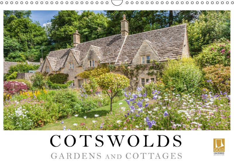 Calendar Cotswolds - Gardens and Cottages 2019