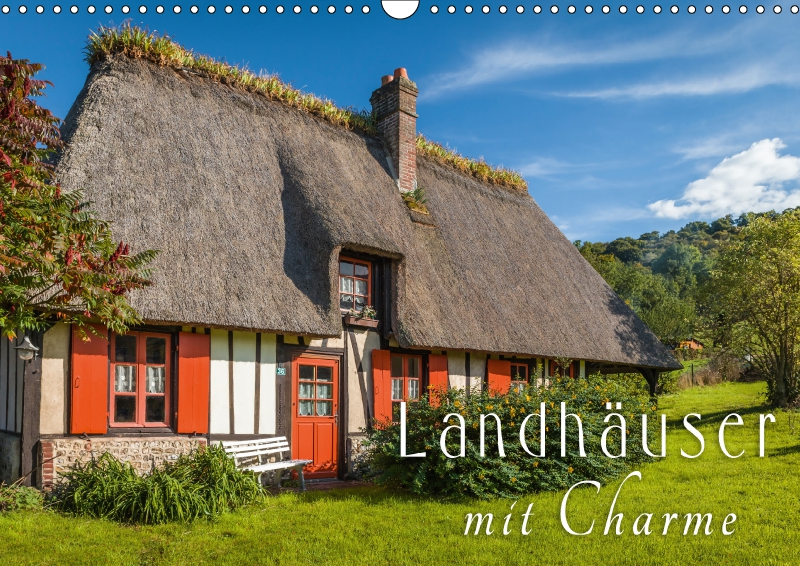 Kalender Landhäuser mit Charme 2017