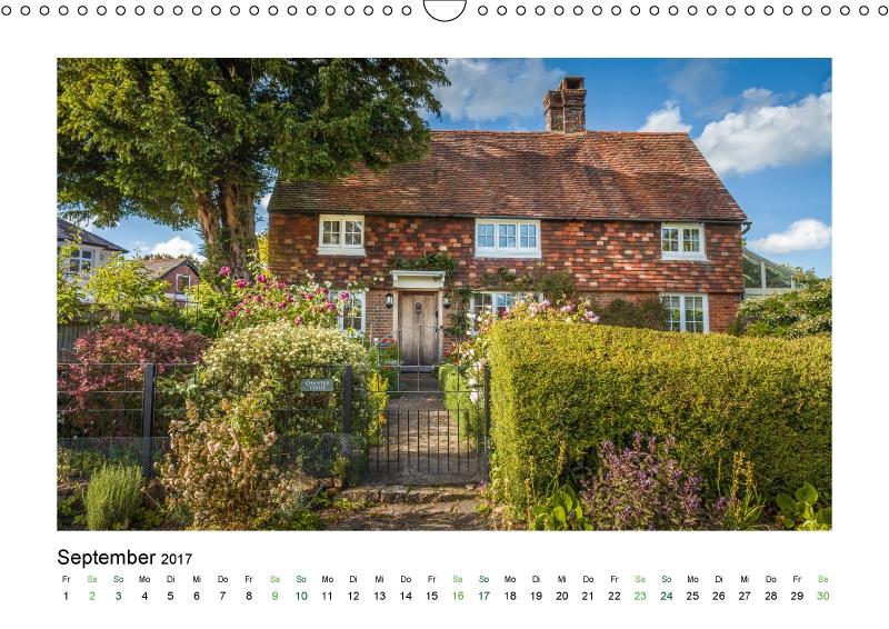 Cottage in Südengland (Kalender Landhäuser mit Charme 2017)
