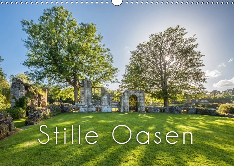 Kalender Stille Oasen 2017