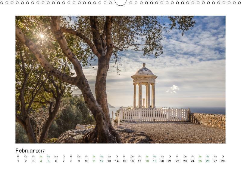 Der Garten von San Marroig auf Mallorca (Kalender Stille Oasen 2017)