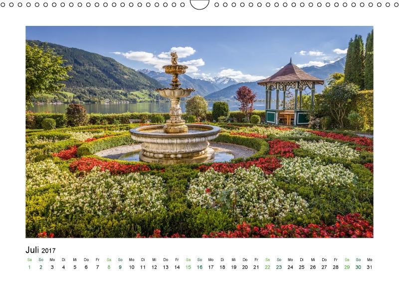 Garten am Zeller See (Kalender Stille Oasen 2017)