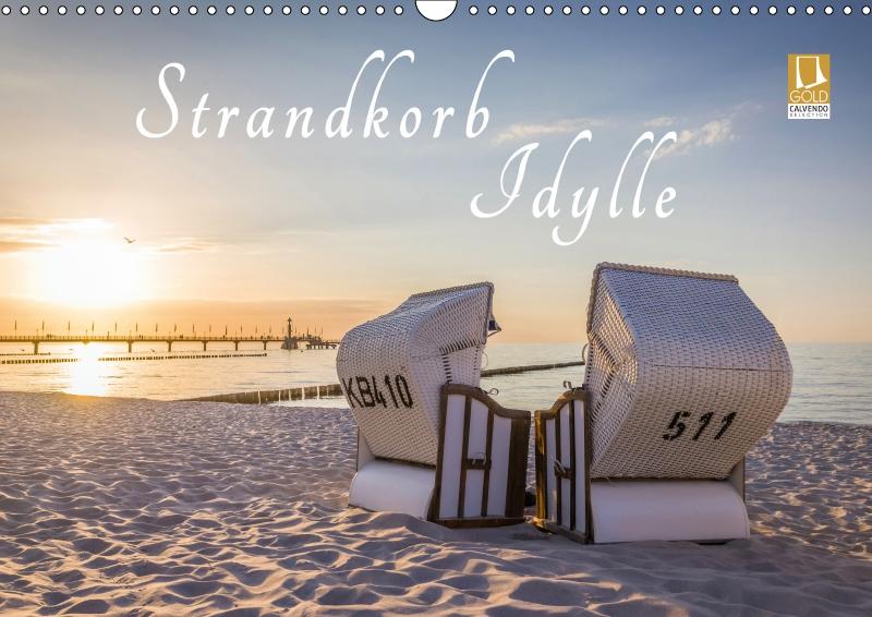 Kalender Strandkorb-Idylle 2019