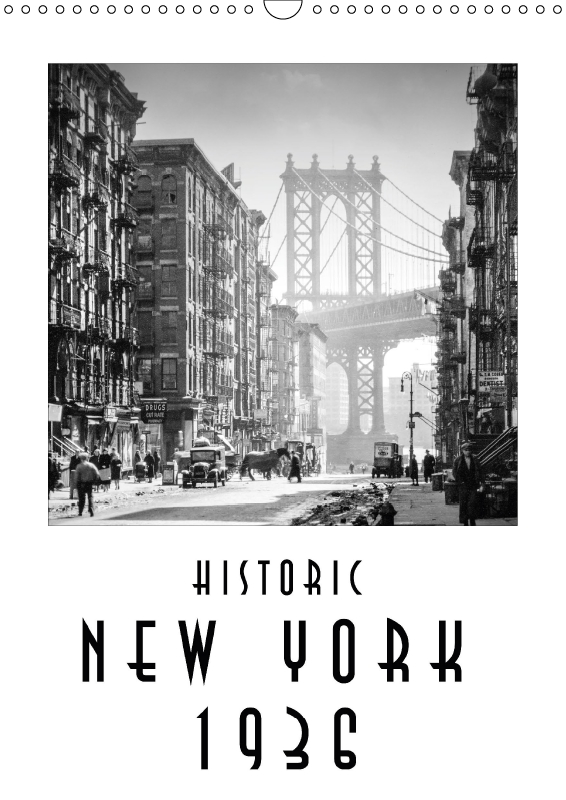 Calendar Historic New York 1936 - 2019