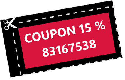 Coupon 15 %