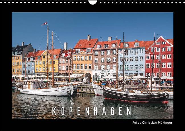 Monatskalender Kopenhagen 2019