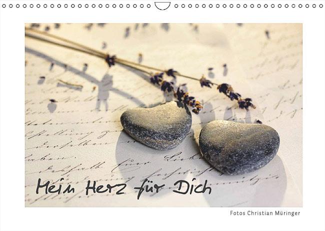 Monatskalender Mein Herz für Dich 2019