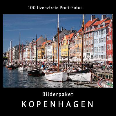 Bilderpaket Kopenhagen - 100 lizenfreie Profi-Fotos