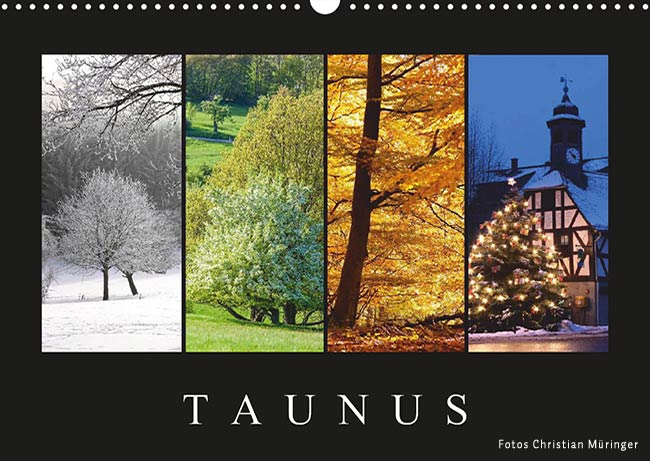 Taunus 2019 Monatskalender
