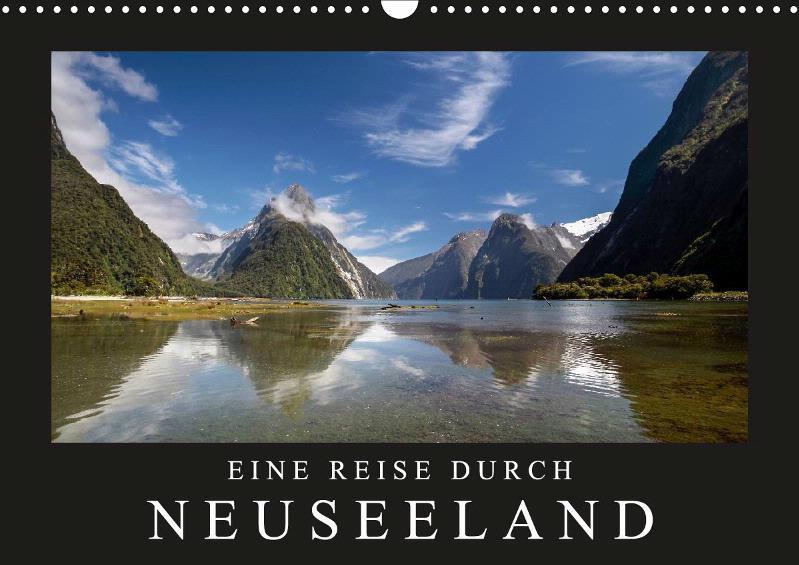 Eine Reise durch Neuseeland Monatskalender 2019