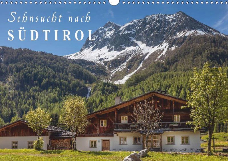 Sehnsucht nach Südtirol 2019 Monatskalender