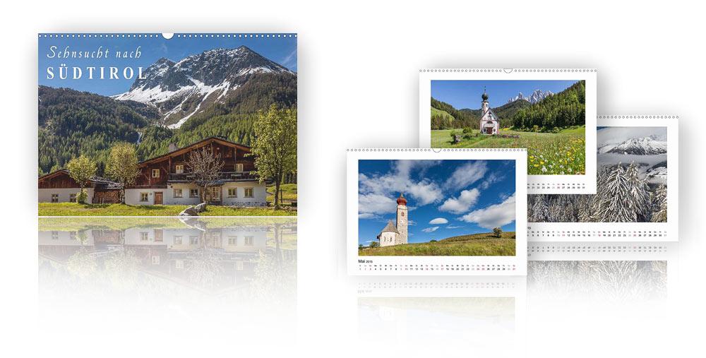 Kalender Sehnsucht nach Südtirol 2018