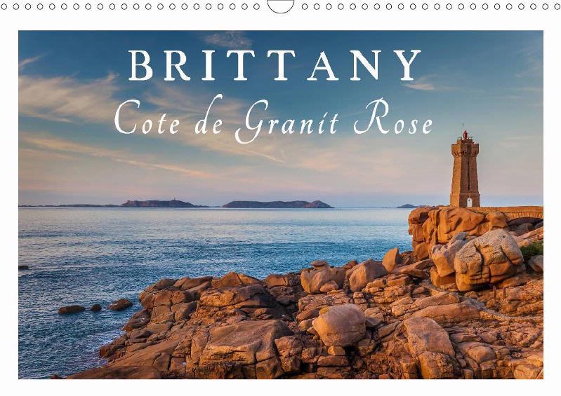 Calendar Brittany - Cote de Granit Rose 2019