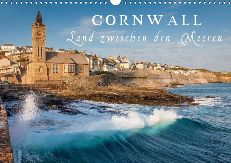Kalender Cornwall - Land zwischen den Meeren 2019