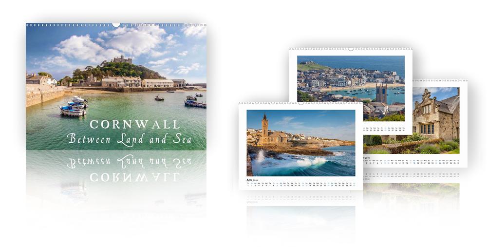 Calendar Cornwall - Between Land and Sea 2018