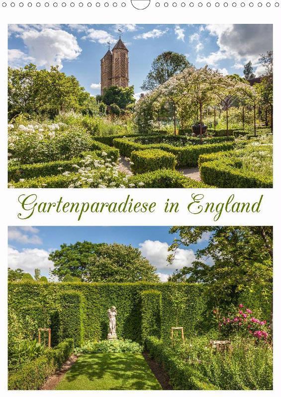 Kalender Gartenparadiese in England 2019