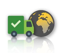 Kostenfreie Lieferung weltweit