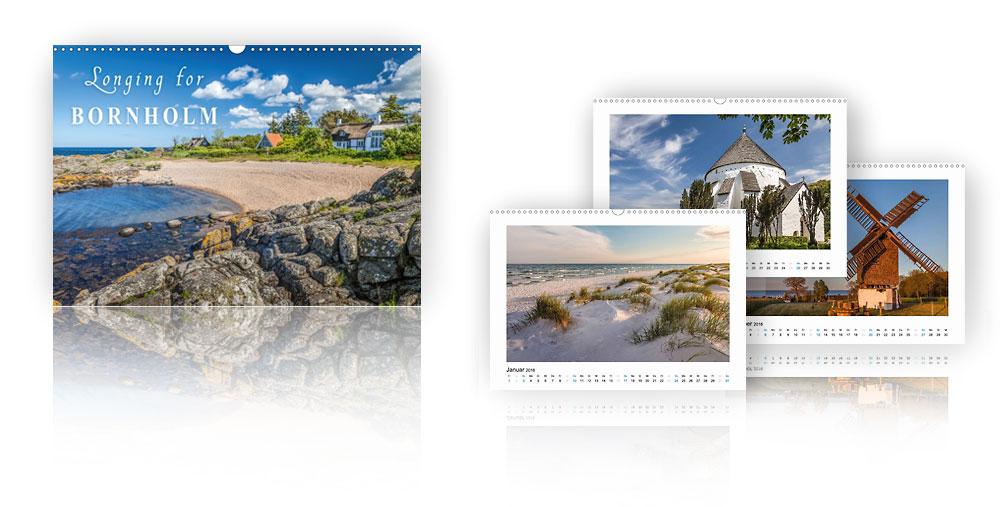 Calendar Longing for Bornholm 2018