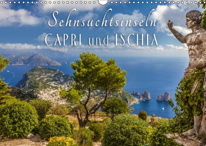 Kalender Sehnsuchtsinseln Capri und Ischia 2019