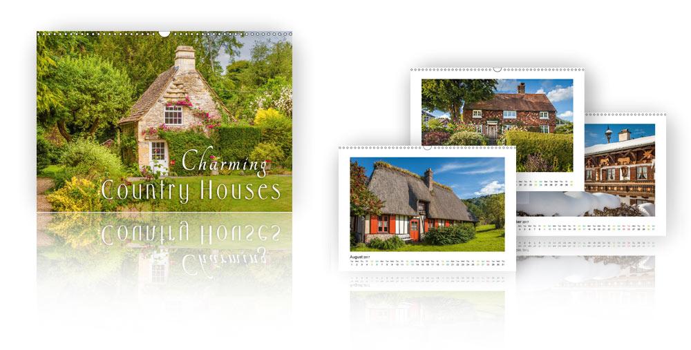 Calendar Charming Country Houses 2018