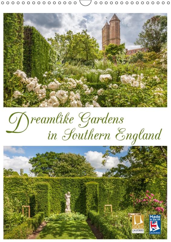 Calendar Dreamlike Gardens in Southern England 2019