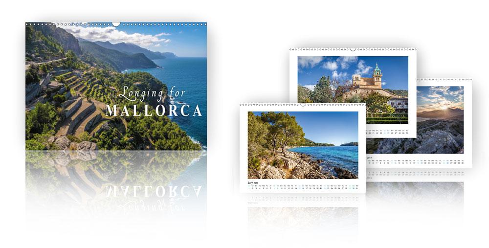 Calendar Longing for Mallorca 2018