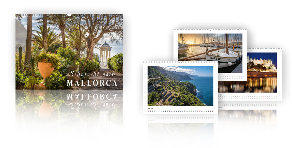 Kalender - Sehnsucht nach Mallorca 2018