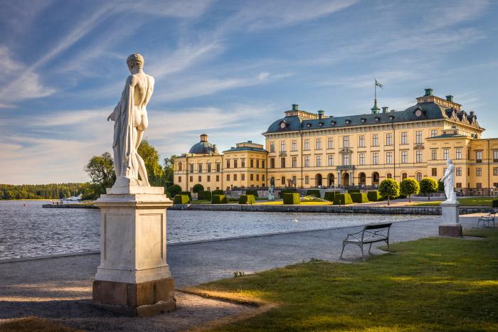 Königsschloss Drottningholm bei Stockholm