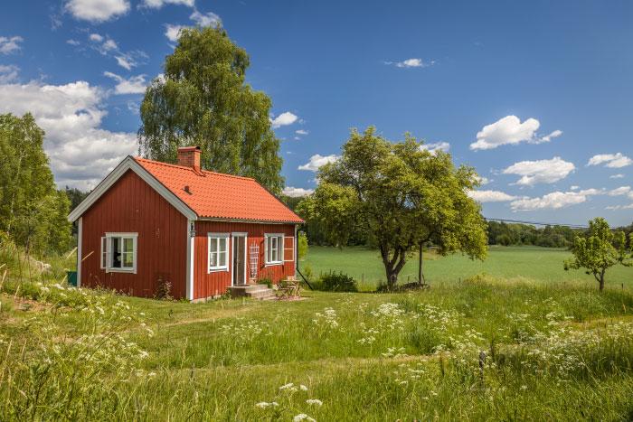 Idyllisches Sommerhaus