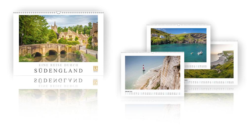 Kalender Eine Reise durch Südengland 2018